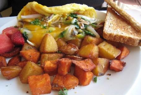Three egg omelet