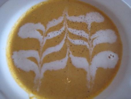 Pumpkin Pistachio Soup