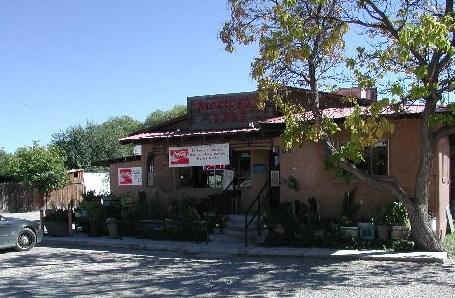 The famous Matilda's Restaurant in Espanola, New Mexico