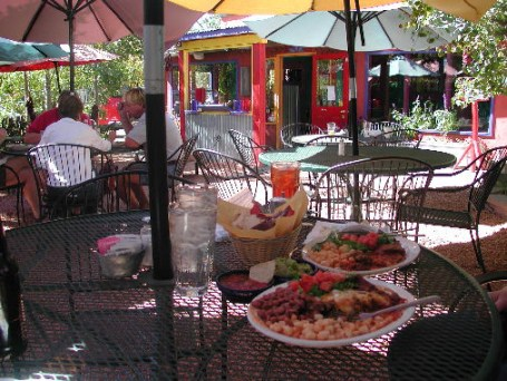 A meal at Orlando's is colorful and delicious