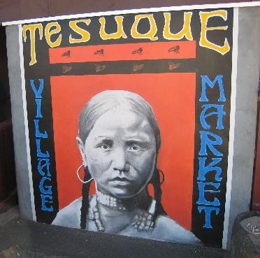 The world famous Tesuque Village Market