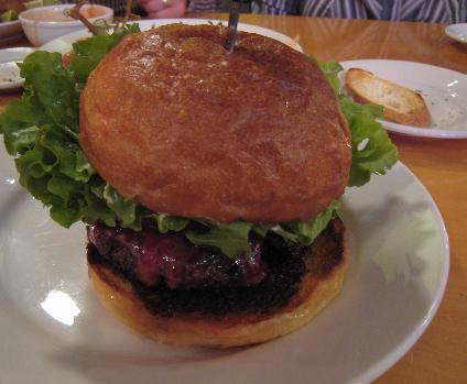 The Belvedere Wine Cheeseburger