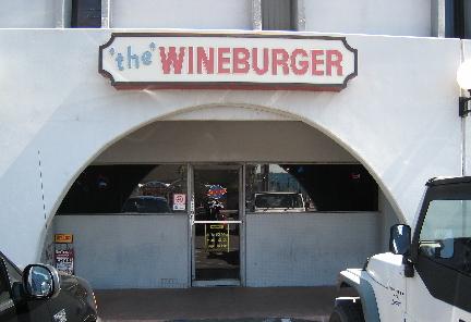 The Original Wineburger in Phoenix, Arizona