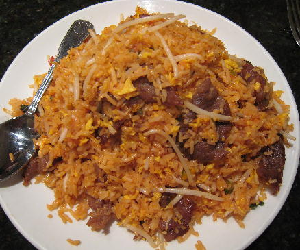 Market fried rice