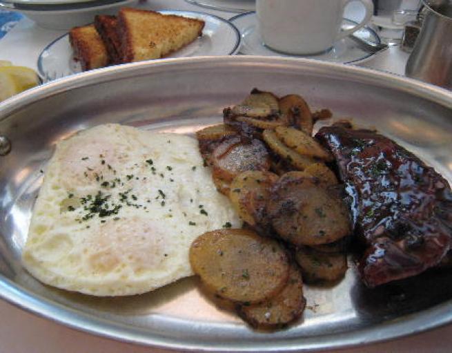 Pork skirt steak