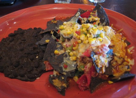 Baked Beef Machaca Chilaquiles