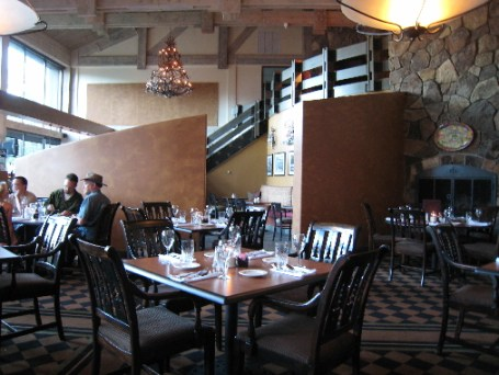The interior of Hamilton's Chop House