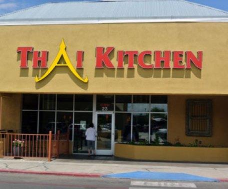 Thai Kitchen on the northwest corner of Alameda and Corrales Roads