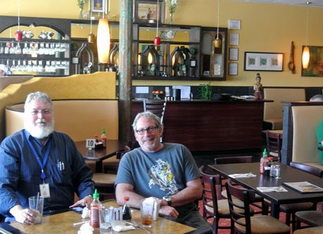 My friends Bill Resnik and Bruce