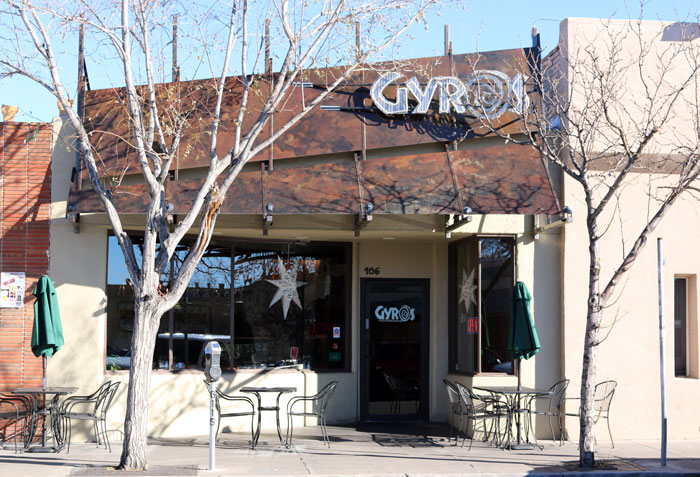 Gryos Mediterraneon just off the UNM campus is a popular dining destination.