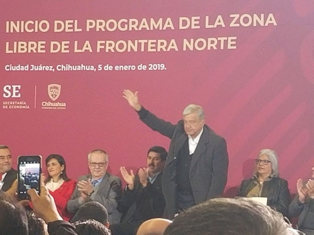 January 2019 Article – AMLO in Juarez