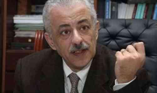 طارق شوقي -وزير التربية والتعليم-