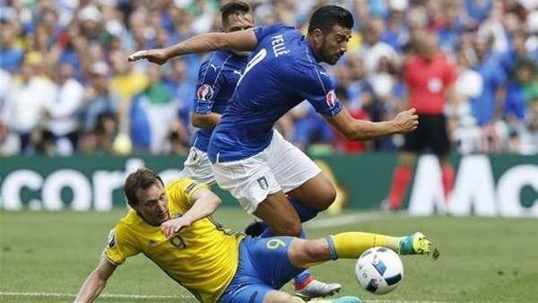 """مباراة إيطاليا والسويد - قهوة عربي - """"الآن"""" نتيجة مباراة إيطاليا والسويد الجمعة 10-11-2017 في الملحق الأوربي وبداية الشوط الأول"""