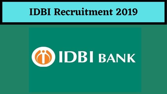 IDBI Recruitment