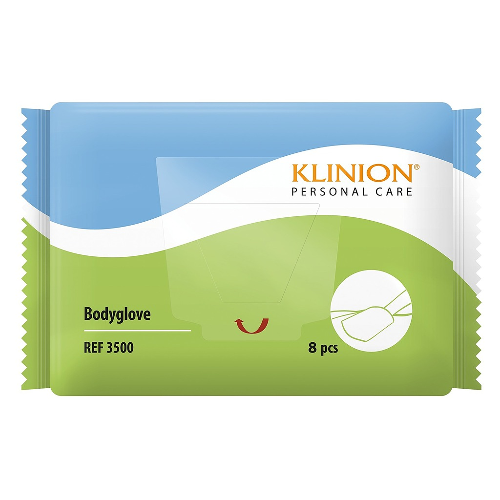 Sachet gants de toilette Klinion