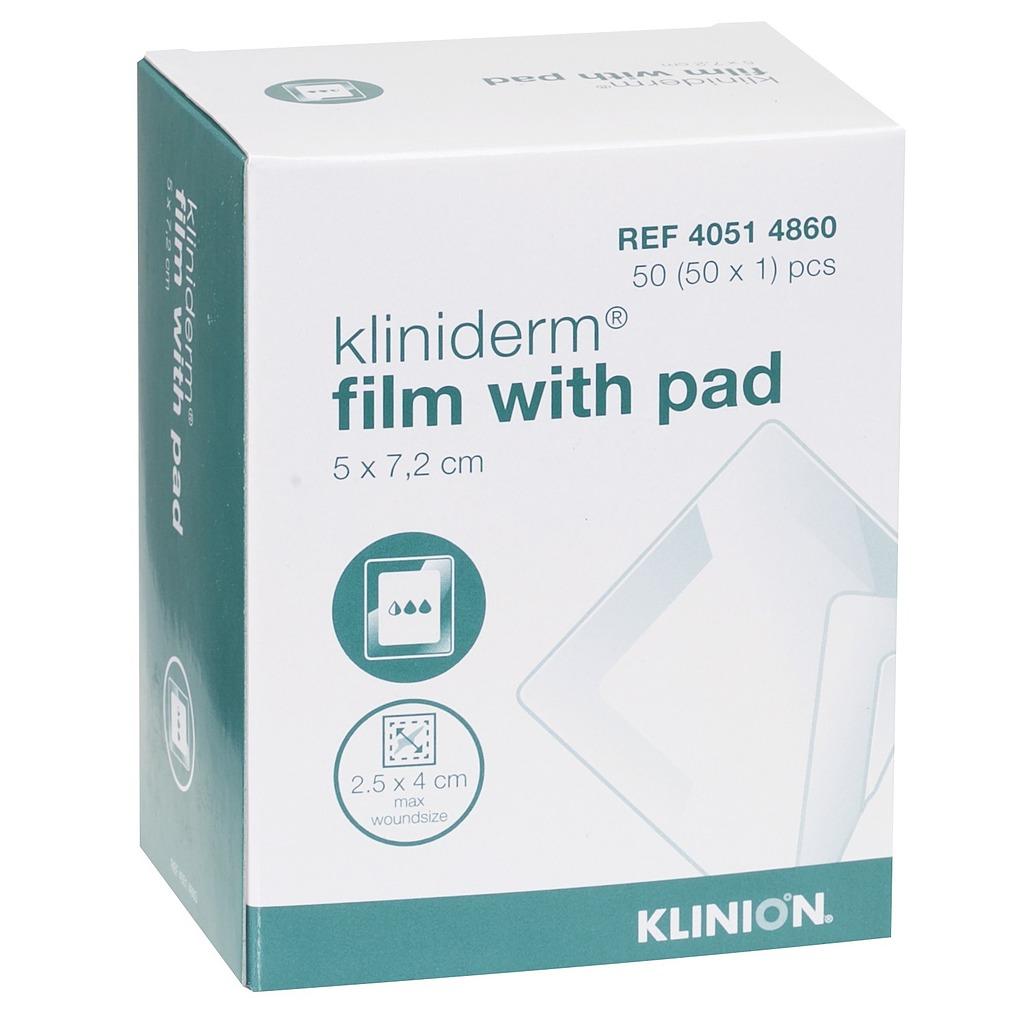 Emballage pansement Kliniderm