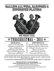 TubaChristmas 2014, Albuquerque, NM - NM Pageant of Bands