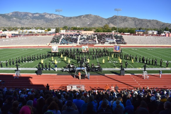 Photo of Eldorado High School Golden Eagle Marching Band