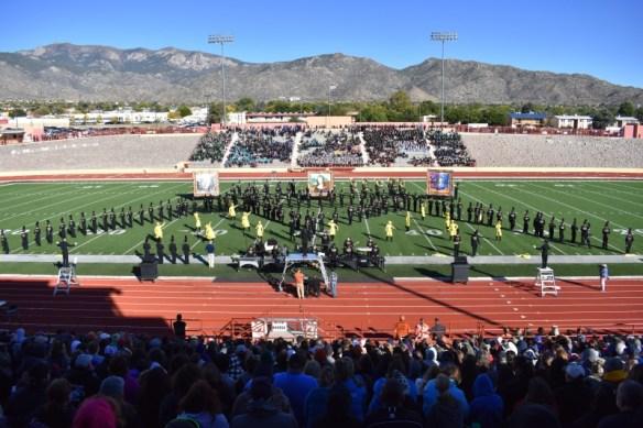 Photo of Eldorado High School Golden Eagle Marching Band