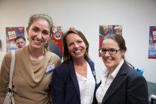 Hayley, Gill, and Karen