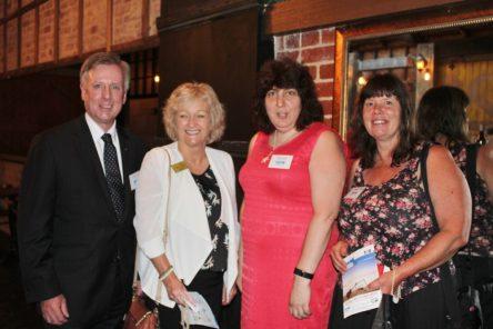 David Morris MP, Mayor Cr Bev Colomb, Festival Director Christina Nolan, & Cr Anne Shaw