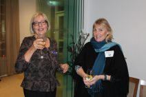 Volunteer Jane with Sandra from Bay Fish N Trips