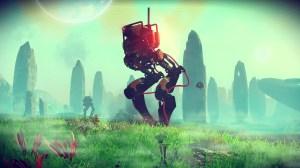 A big robot!