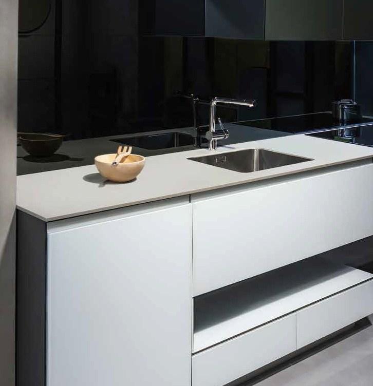 Encimeras de cocina todos los estilos y materiales - Nuevos materiales para encimeras de cocina ...