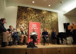 Diskussionsrunde in der Münchener Musikhochschule. Foto: Juan Martin Koch