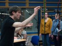 Chorleiter und Komponist Tobias Reinsch. Foto: Hufner