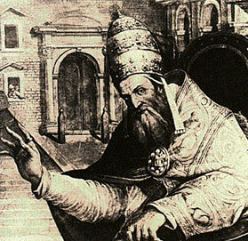 Image result for Pope Gregory IX introduces the Inquisition