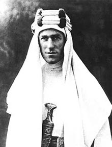 TE Lawrence Of 'Arabia'