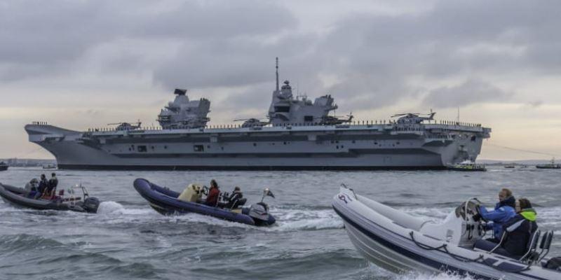 Щойно повідомили, цей момент настав! Найпотужні військові кораблі Британії направляються у Чорне море