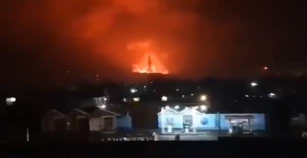 В Африці відбувається потужне виверження вулкана поруч з великим містом: Справжній апокаліпсис