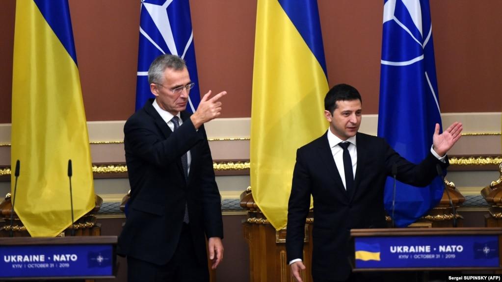 Очільник НАТО Єнс Столтенберґ про телефонну розмову із Володимиром Зеленським
