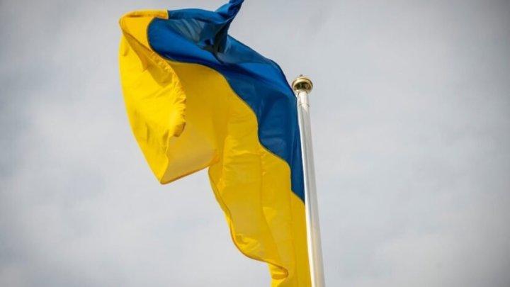 Український прапор замайорів над Кремлем: невідомі відзначили День Державного прапора