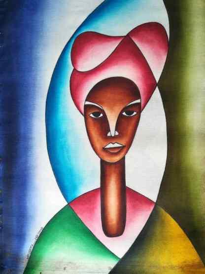 Title Beautiful Uganda. Artist Nuwa Wamala Nnyanzi. Medium Batik. Code NWNWEB0212012