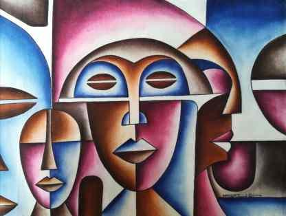 Title African Queen. Artist Nuwa Wamala Nnyanzi. Medium Batik. Code NWN0012014