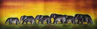 Title Single File. Artist Nuwa Wamala Nnyanzi. Medium Batik. Code 0012015