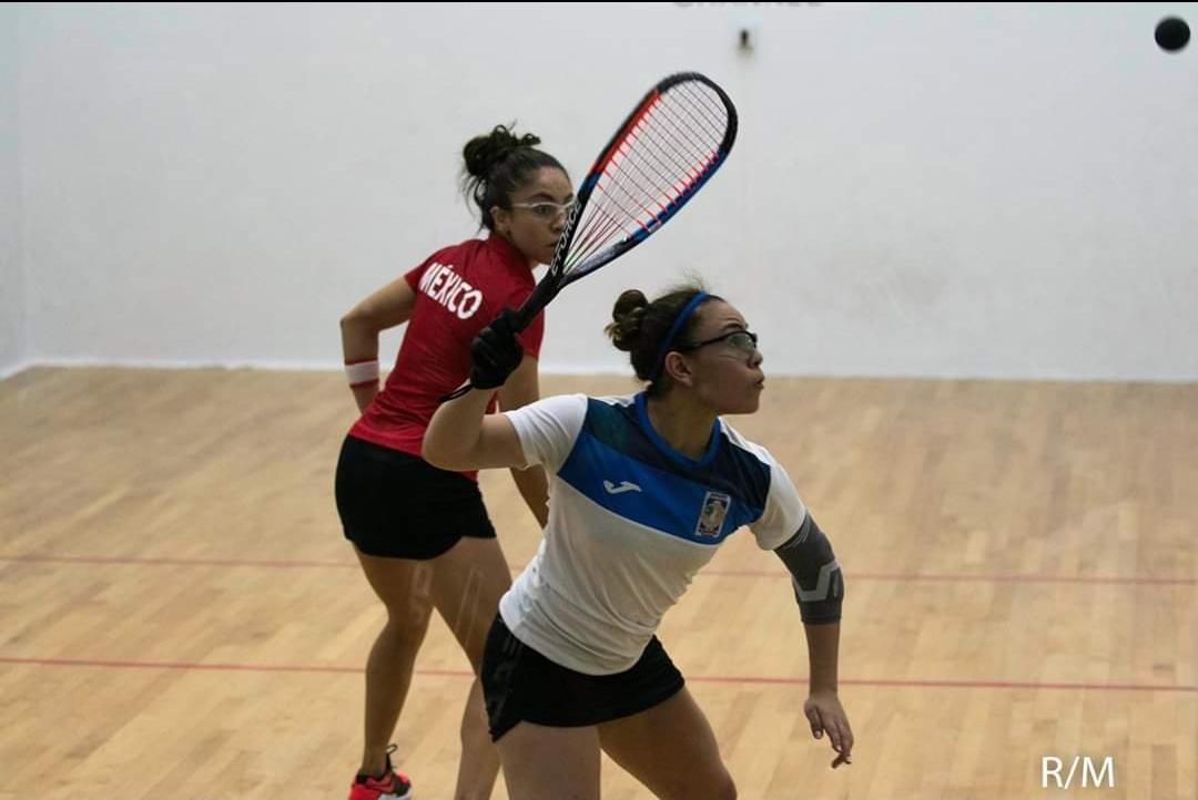 Ana Gabriela Martínez ganó en agosrto el mundial de raquetbol.