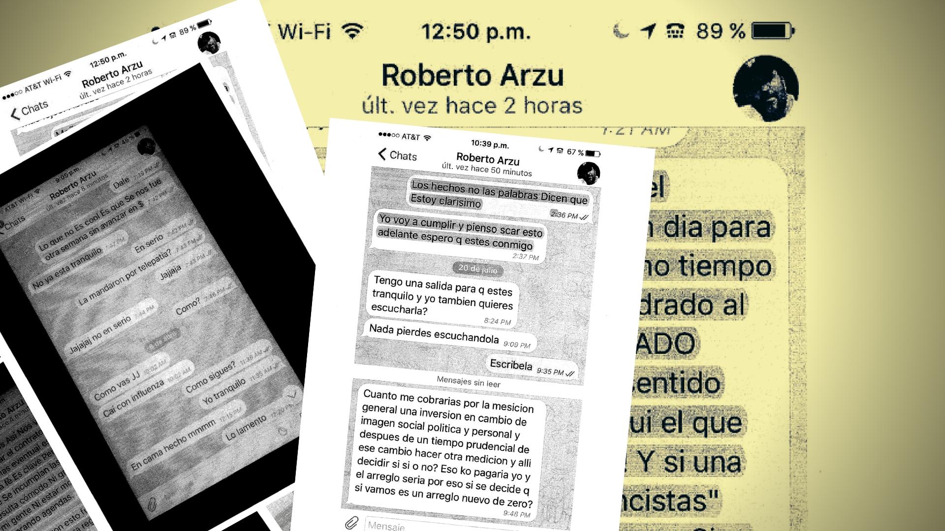 La jugada de JJ Rendón al candidato Roberto Arzú