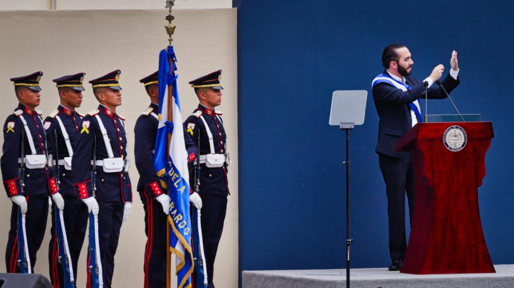 Toma de Posesión de Nayib Bukele como Presidente de El Salvador