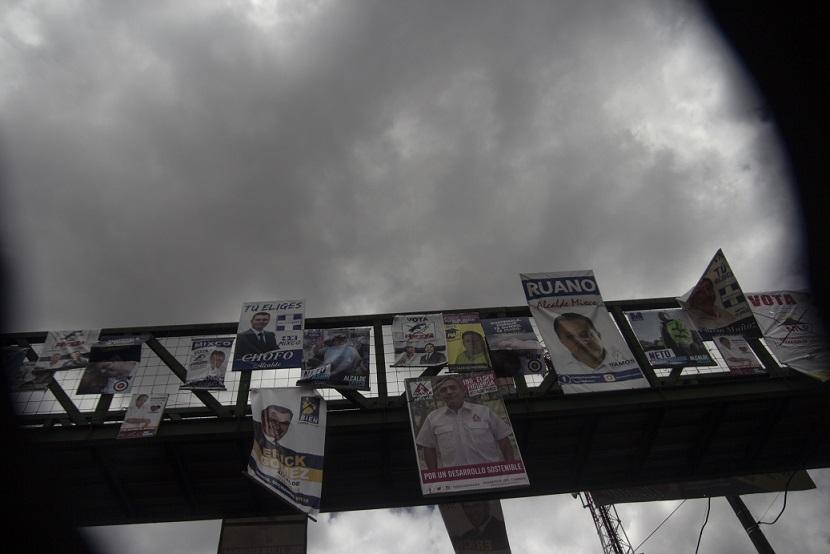 La campaña electoral ante las pandillas