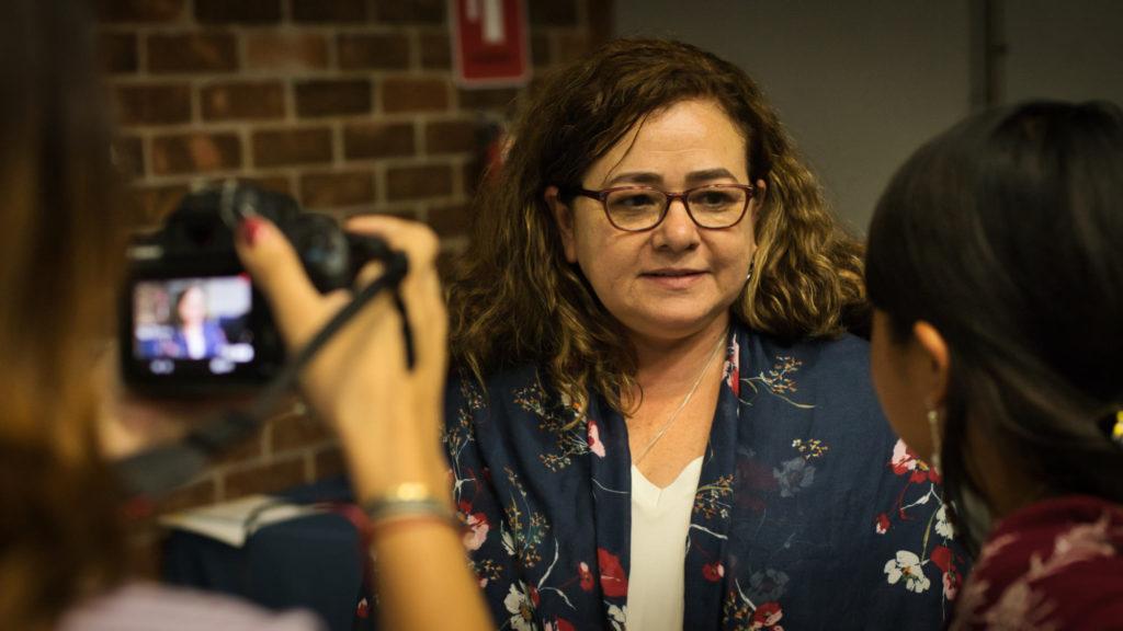 Conferencia sobre Comisiones Anticorrupción en Centroamerica Claudia Paz y Paz