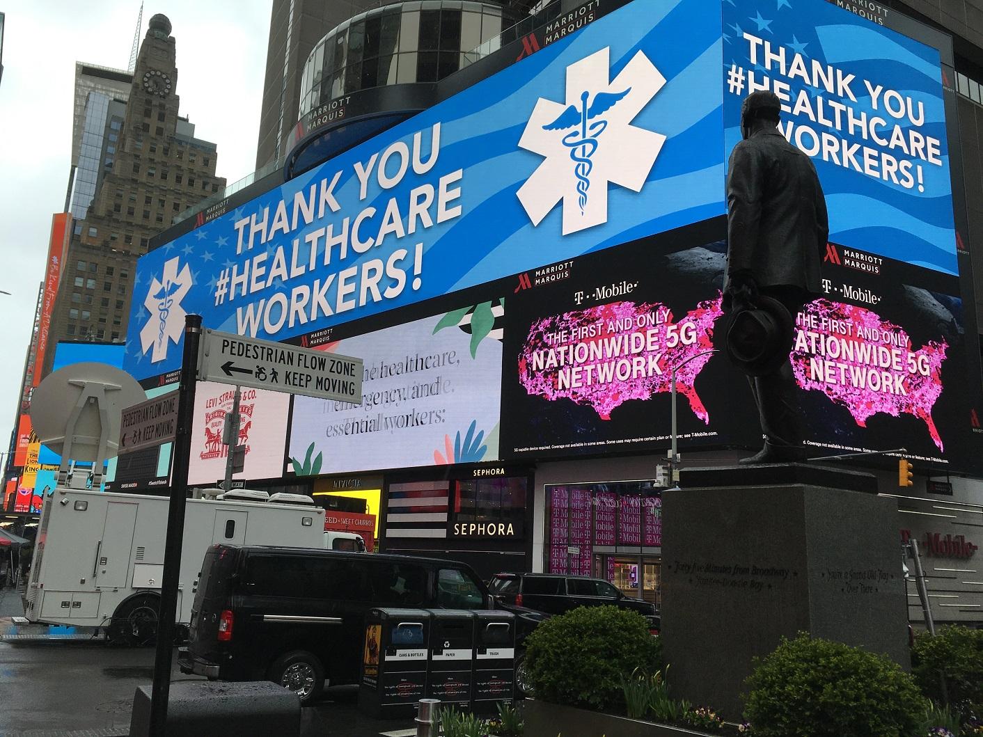 Nueva York: El virus es una lluvia sobre la ciudad