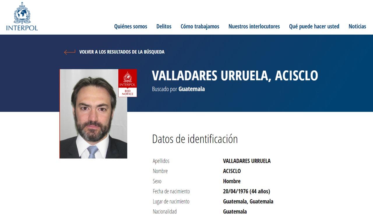 Lavado de dinero, narcotráfico y la Ley Tigo: los tres estigmas de Acisclo Valladares Urruela