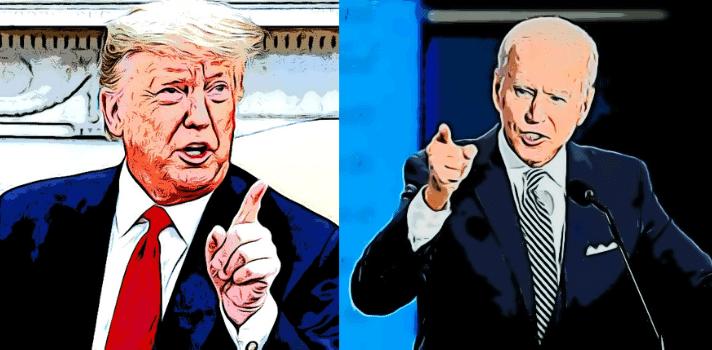 Los debates presidenciales: Trump vrs Biden