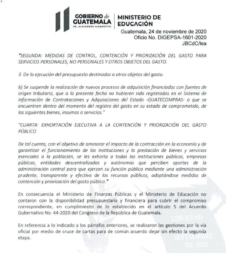 mineducRespuestaSegundaFase