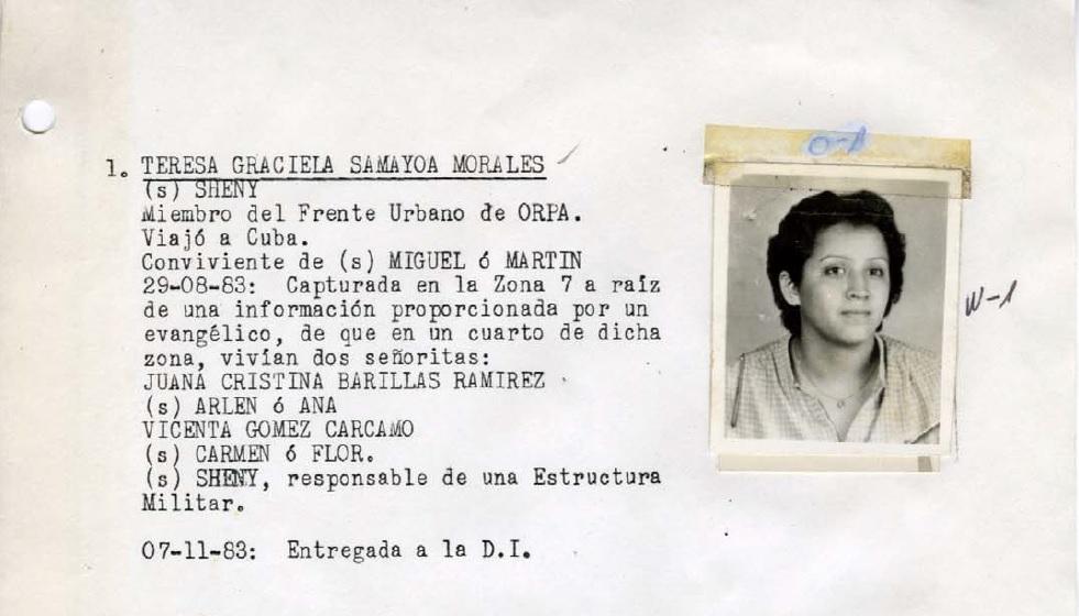 Teresa Graciela Samayoa Morales