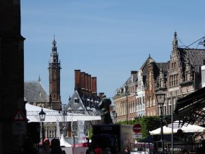 Haarlem, Grote Markt; Gemeentehuis